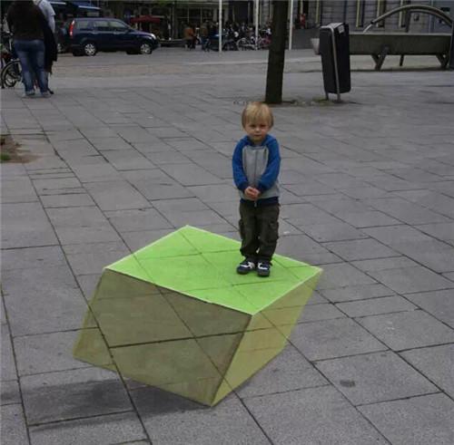 令人震惊的3d立体画展